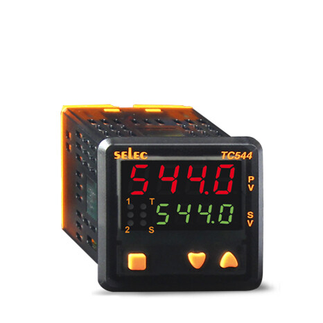 Selec TC544B Dual Set Point Short Depth Temperature Controller