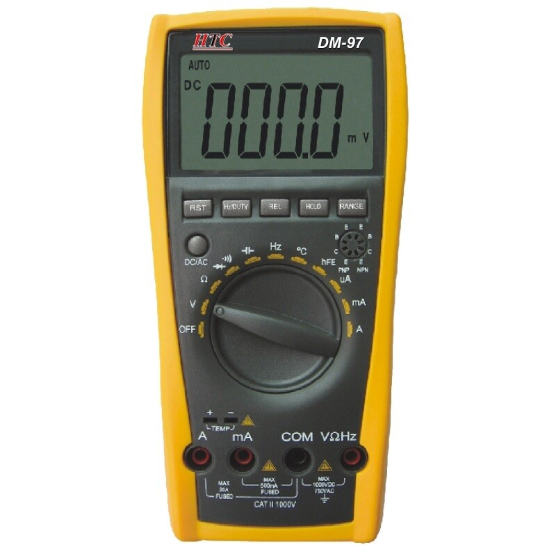 HTC DM-97 Digital Autoranging TRMS Multimeter