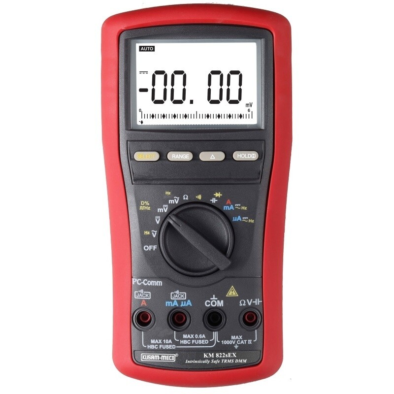 Kusam Meco KM-822s-EX Intrinsically Safe Digital Multimeter