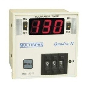 Multispan MDT-2312  3-Digit Timer 72 x 72 mm