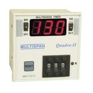 Multispan MDT-2312  3-Digit Timer 72 x 72 mm