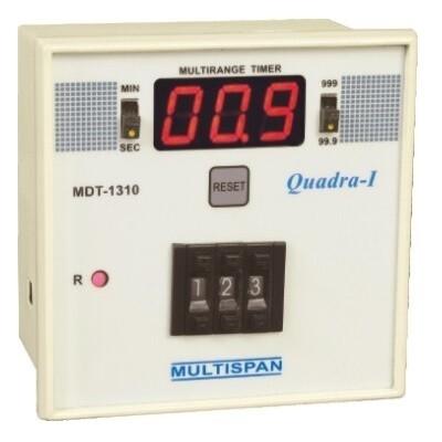 Multispan MDT-1310  3-Digit Timer 96 x 96 mm