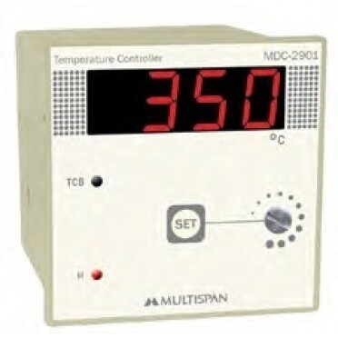 Multispan MDC-2901 Digital Temperature Controller 72 x 72 mm