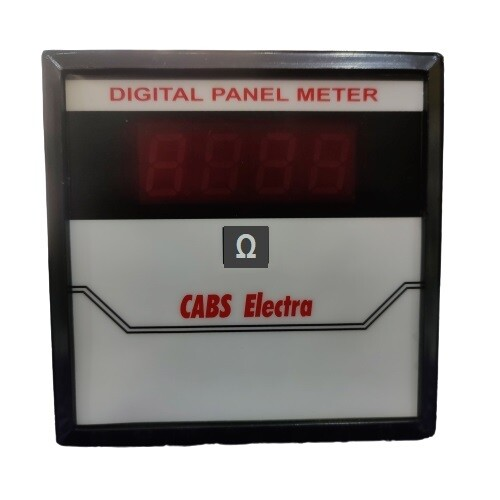 Digital Resistance Meter - Panel Mounting type