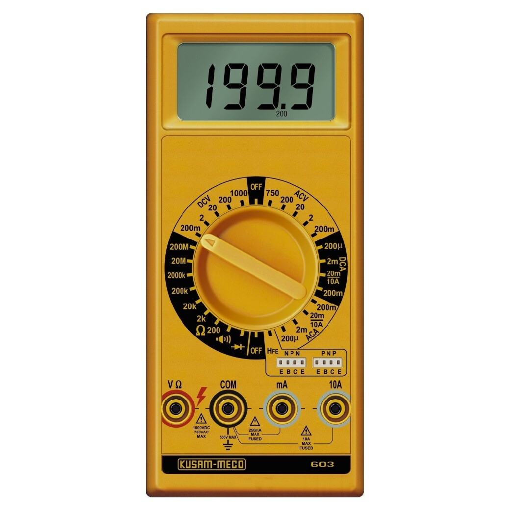 Kusam Meco KM-603 Digital Multimeter