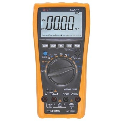 HTC DM87 Digital TRMS Multimeter with 20000 counts