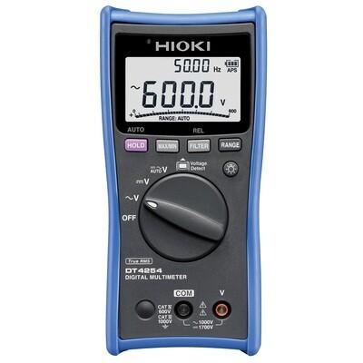 Hioki DT-4254 Digital Multimeter with 1500VDC for Solar Application
