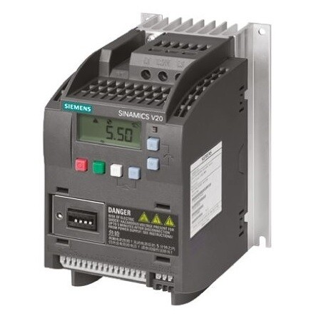 Siemens Inverter Drive, 3-Phase 2.2 kW / 3 HP SINAMICS V20