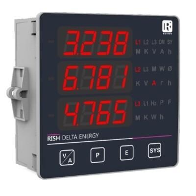 Rishabh Multifunction Meter - Rish Delta Energy