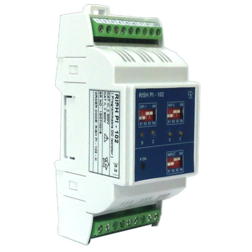 Rishabh PI-102 Programmable DC Signal Isolator with dual output