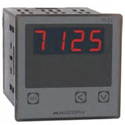 Multispan PI-21 Process Indicator 72 x 72 mm