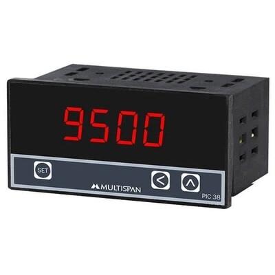 Multispan PI-38 Process Indicator 48 x 96 mm