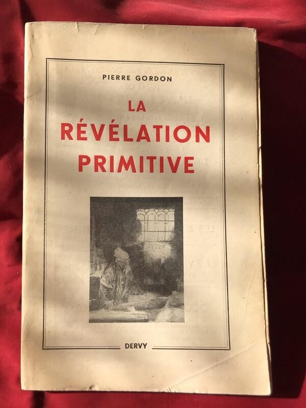 La révélation primitive