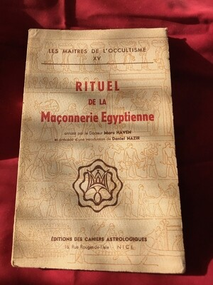 Rituel de la Maçonnerie Egyptienne