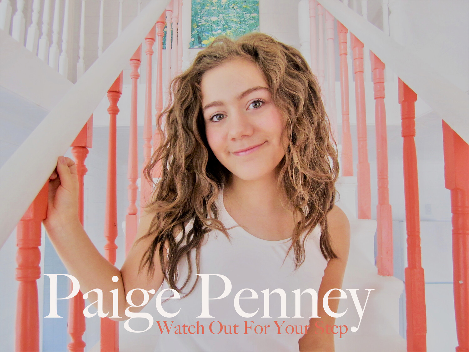 "Paige Penney ""Watch Out For Your Step"" CD"