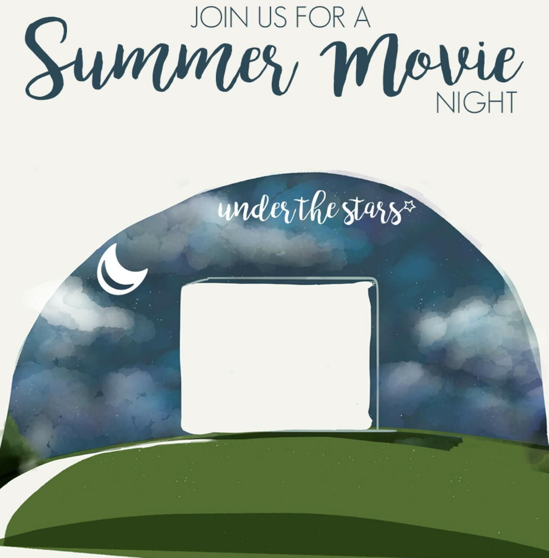 Neighborhood Summer Movie Night Invitation {Free Printable}