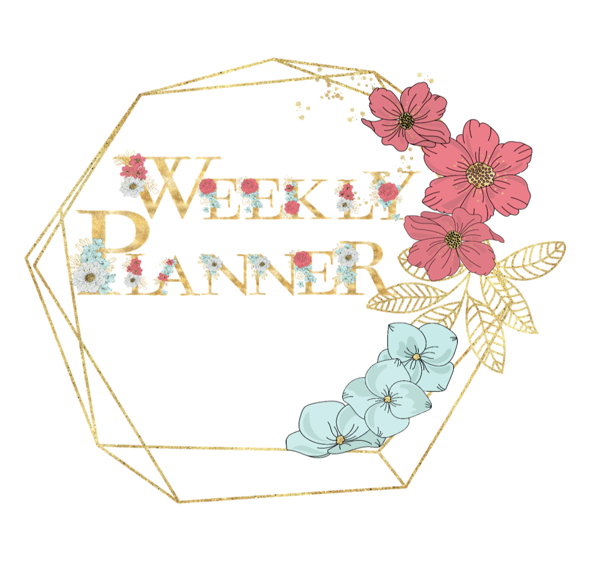 Weekly Planner feat. Daily To Do List, Meal Plans, Appointments and Notes (8 page PDF)
