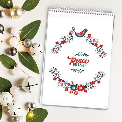 Peace on Earth Free Christmas Printable {Nordic Style}