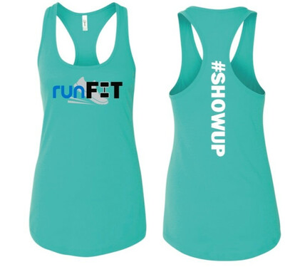 #SHOWUP Racerback Tank