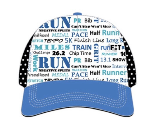 Running Words Trucker Hat | BOCO Gear