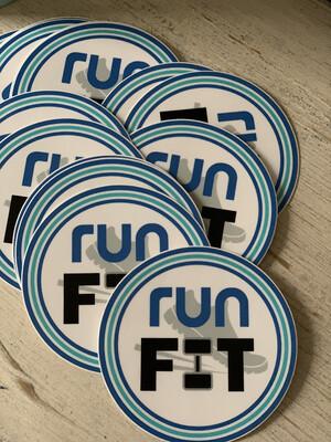 3x3 runFIT Vinyl Waterproof Sticker