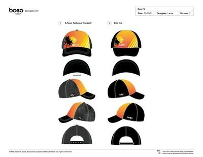 Rise & Run Elite Running Hat | BOCO Gear