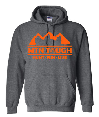Youth MTN Tough Hunt Fish Live Hoodie