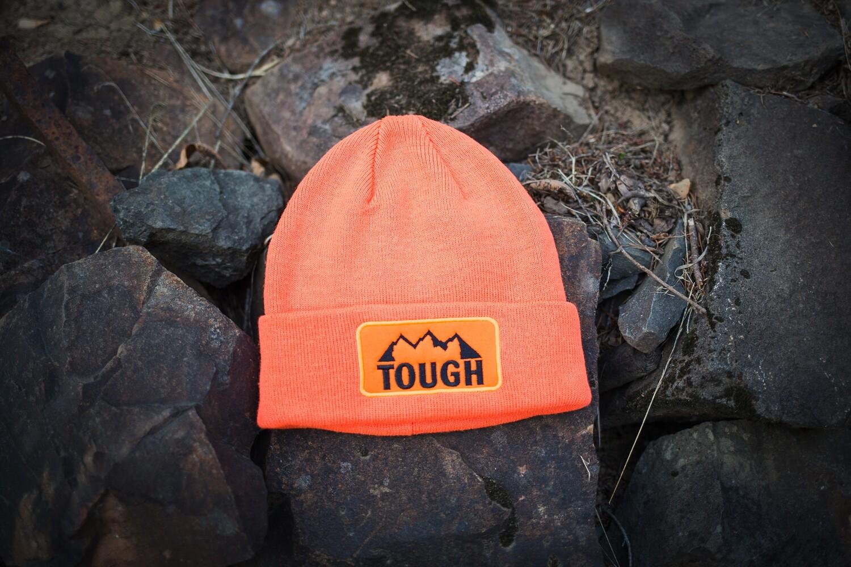 MTN Tough Hunter Orange or Black Beanie