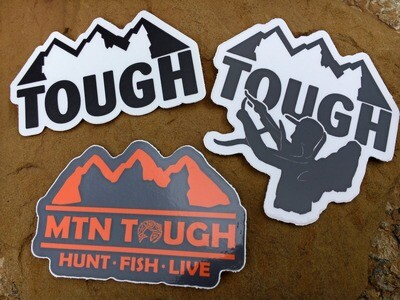 FREE MTN Tough Decal