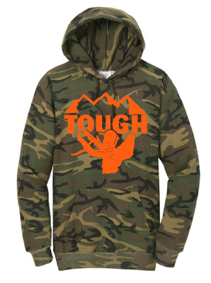 MTN Tough Camo Hooded Sweatshirt