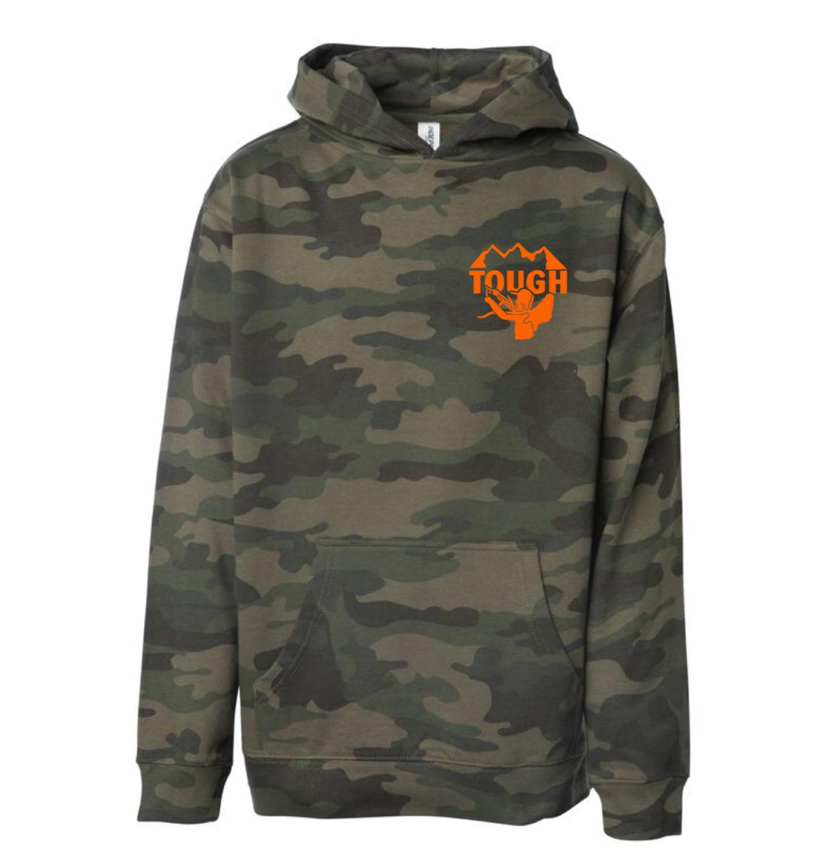 Youth Camo Hooded Sweatshirt