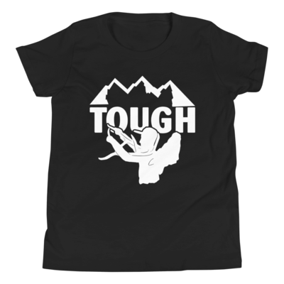TOUGH Youth Short Sleeve T-Shirt - White