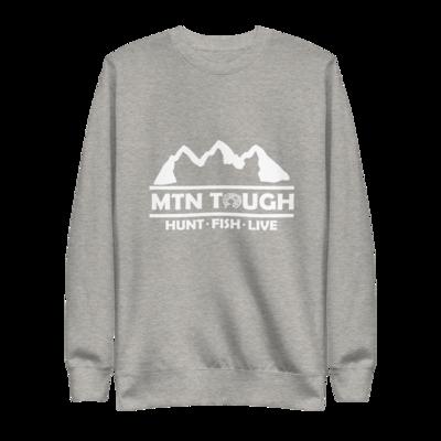 MTN Tough Hunt Fish Live Unisex Fleece Crew Pullover
