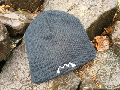 MTN Fleece Lined Black Beanie
