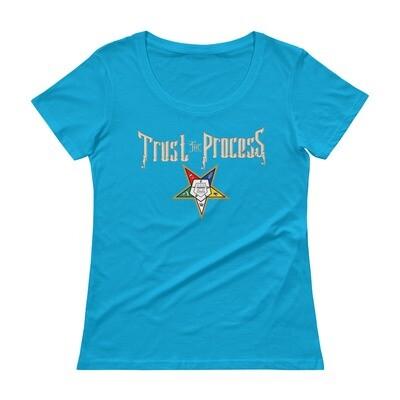 Trust the Process Scoopneck T-Shirt