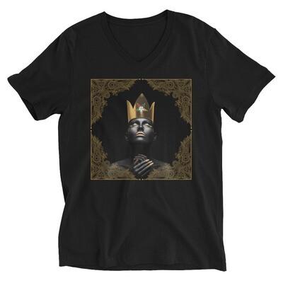 Crown Short Sleeve V-Neck T-Shirt