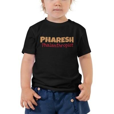 PHARESH Toddler Short Sleeve Tee (Multiple Colors)