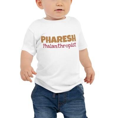 PHARESH Baby Jersey Short Sleeve Tee (Multiple Colors)
