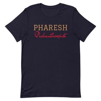 PHARESH Mens T-Shirt (Multiple Colors)