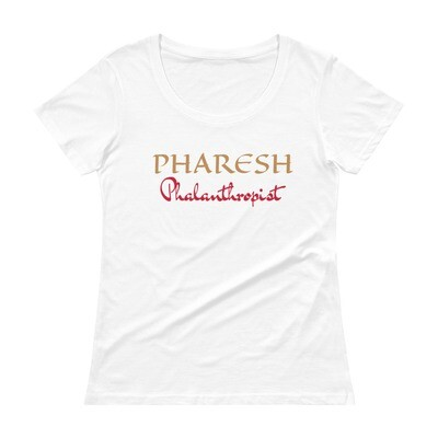 PHARESH Ladies' Scoopneck T-Shirt (Multiple Colors)