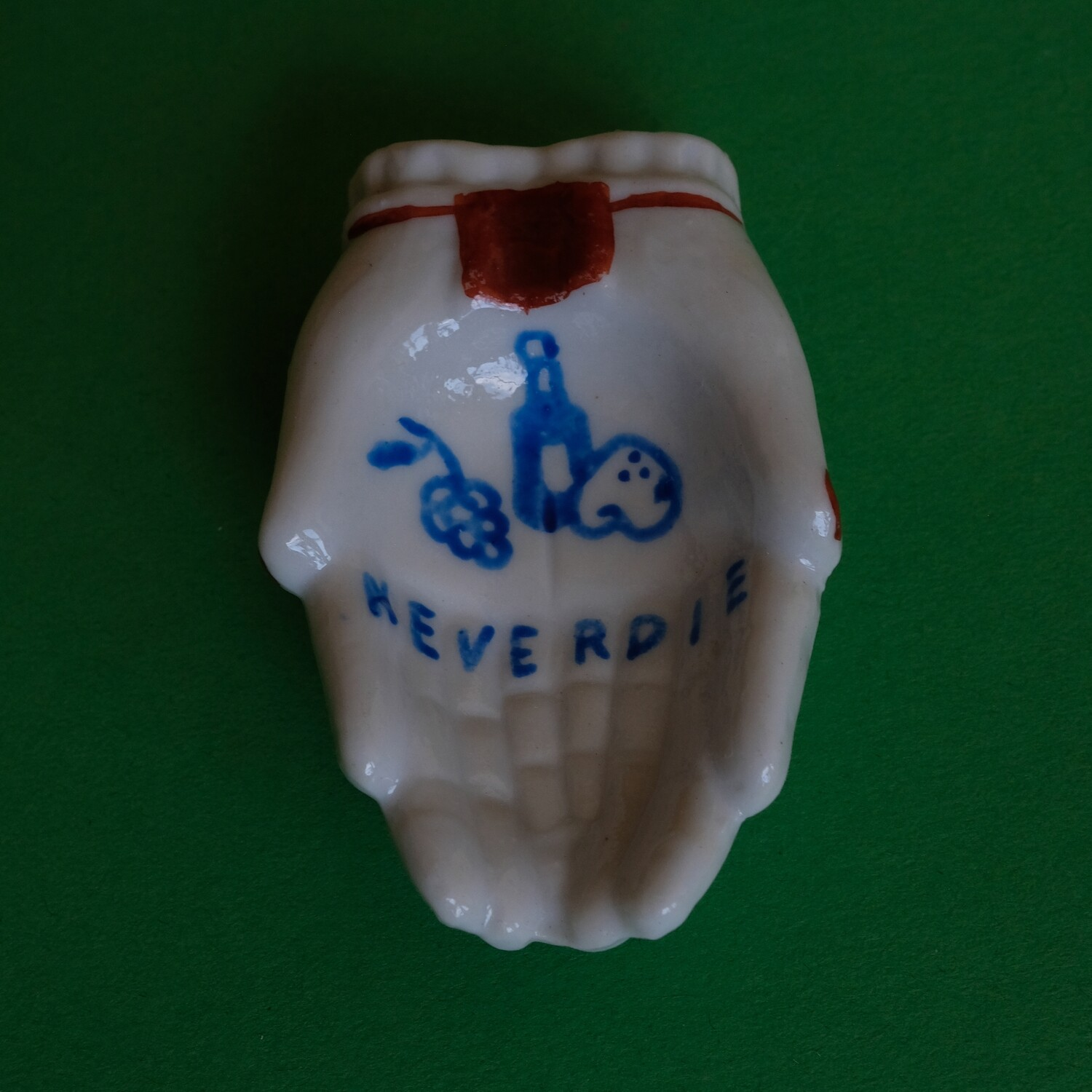 #77 - Small hand painted vintage Japanese ashtray by Bruno Levy