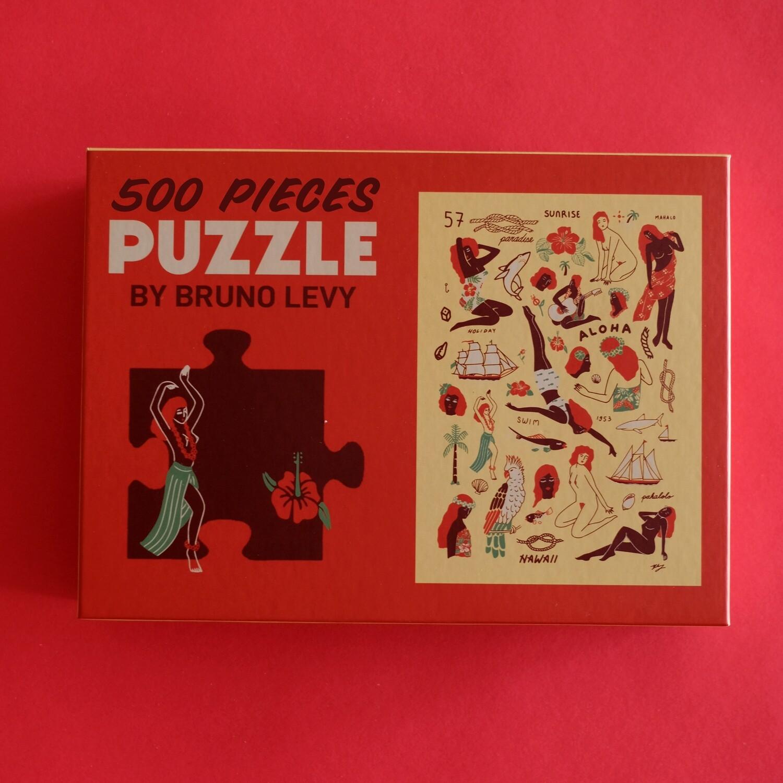 Hawaiian Puzzle by Bruno Levy