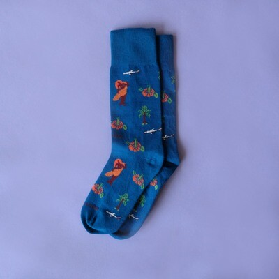 Limited Edition - Aloha Socks by Bruno Levy