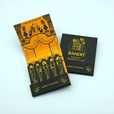 BANDIT STUDIO  // BLACK EDITION MATCHES