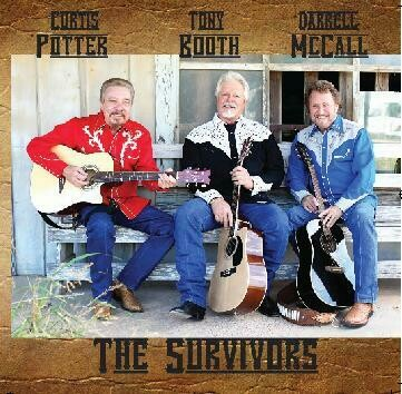"Curtis Potter, Tony Booth & Darrell McCall ""The Survivors"" CD 00008"