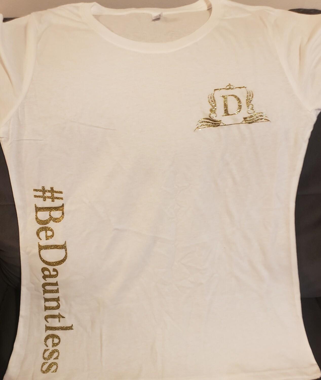 T-Shirt #BeDauntless (White)