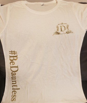 T-Shirt #BeDauntless (White)