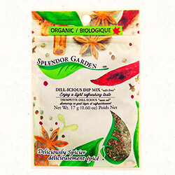 Splendor Garden - Organic Dill-icious Dip Mix (Salt Free)