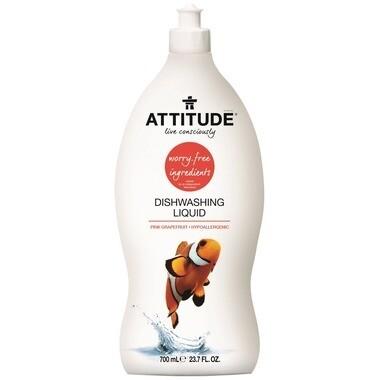 Attitude Dishwashing Liquid - Pink Grapefruit 700ml
