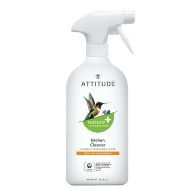Attitude Eco Kitchen Cleaner - Citrus Zest 800ml